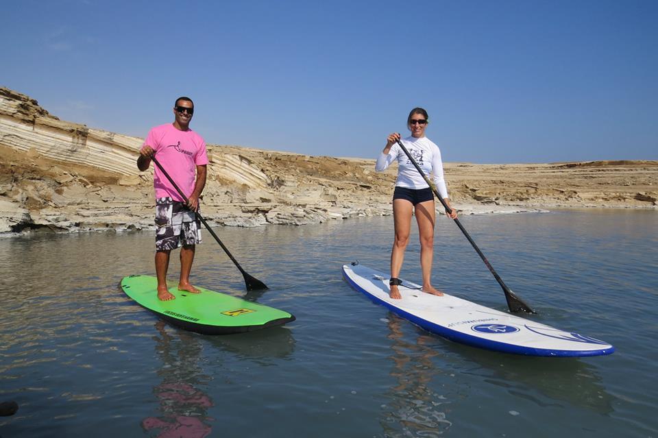 על סאפ בים המלח עם עמית ענבר