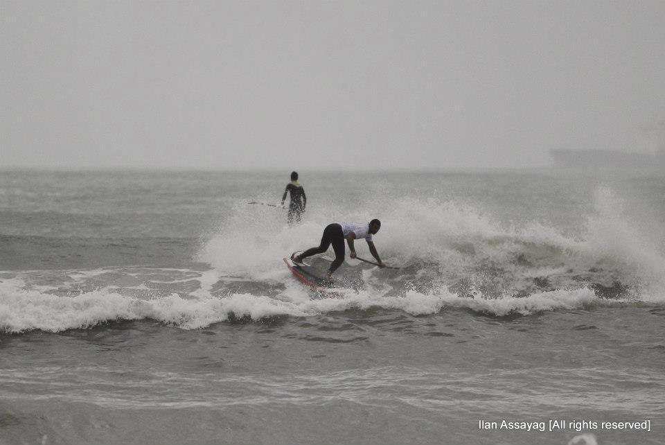 גלישת גלים על סאפ - משוטי המחץ 2012