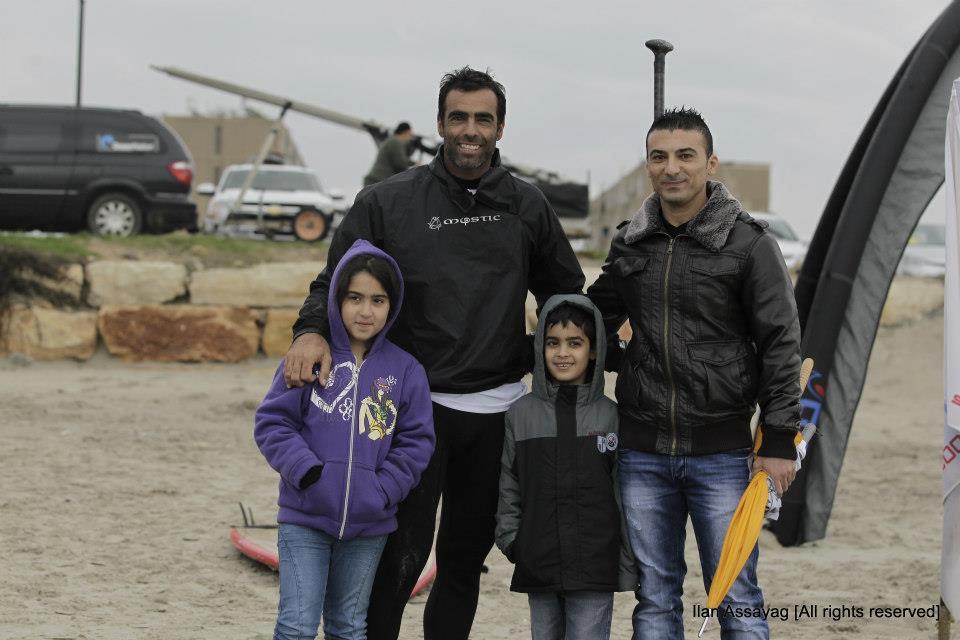 עמית ענבר בתחרות משוטי המחץ בקריות 2012